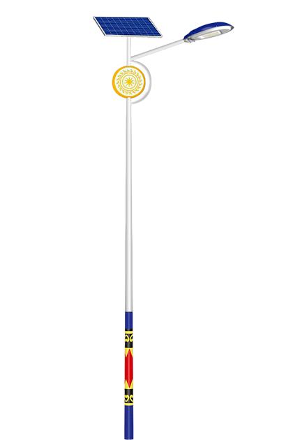 太阳能路灯(民族款3)
